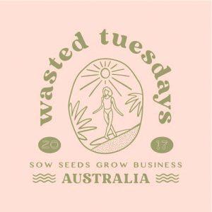 wasted tuesdays logo